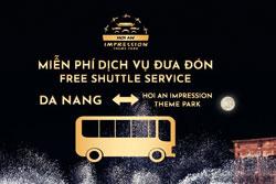 Xe bus miễn phí 2 chiều Đà Nẵng,Hội An