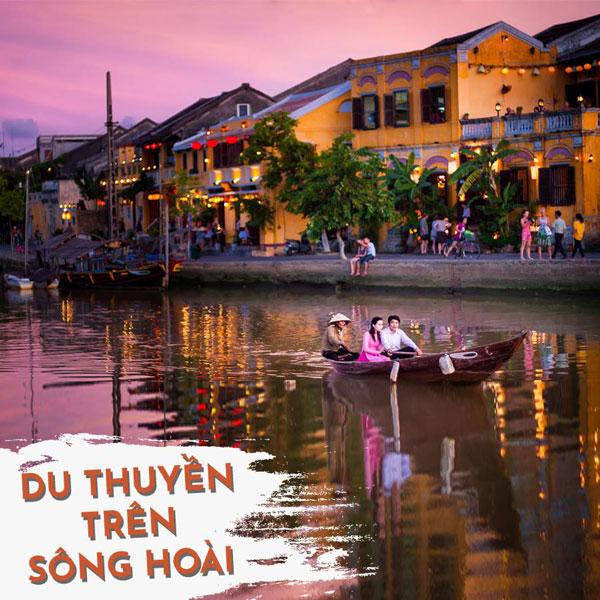 du thuyển trên sông Hoài, trải nghiệm thú vị