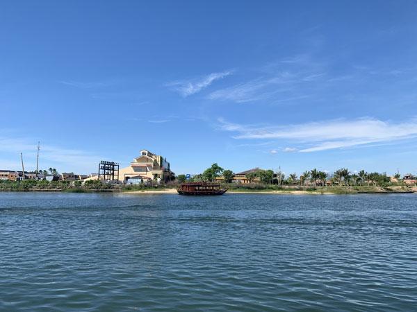 bờ sông thu bồn