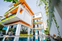 Villa Hội An có bể bơi