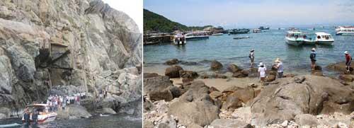 Thuê thuyền đi khám phá các đảo nhỏ tại Cù Lao Chàm