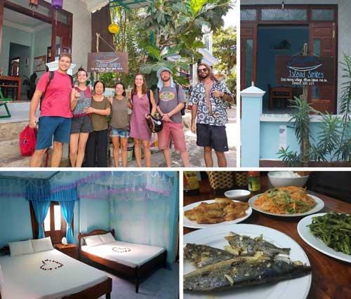 island thân thiện và có những món ăn ngon làm hài lòng du khách