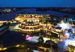 Công viên ấn tượng hội an về đêm